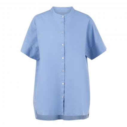 Oversize Bluse 'Larissa' blau (4034 malibu)   L