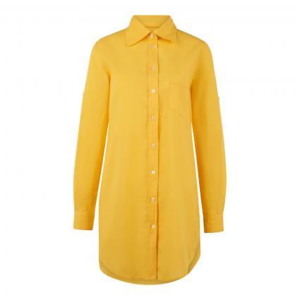 Hemdbluse 'Taya' mit Brusttasche gelb (0723 gelb)   L