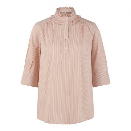 Bluse 'Lina' mit Streifenmuster beige (110 CUBAN SAND)   M