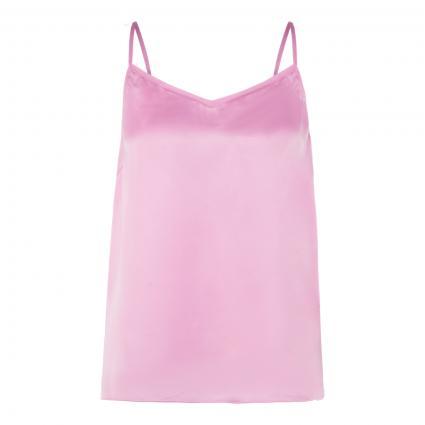 Top 'Ditte' mit Seiden-Anteil pink (399 BUBBLE PINK) | M