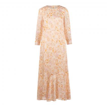 Kleid 'Saku' mit All-Over Druck orange (394 PEACH PARFAIT) | M