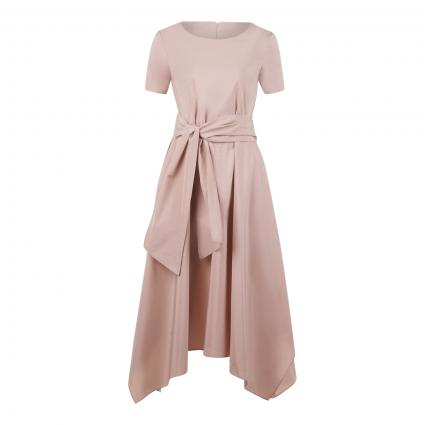 Kleid 'Mia' mit Bindegürtel rose (001 rose) | 42