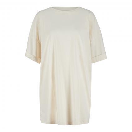 T-Shirt Kleid  beige (NATUREL) | XS/S