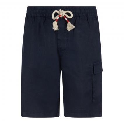 Shorts 'Marseille' aus Leinen marine (navy) | XXL