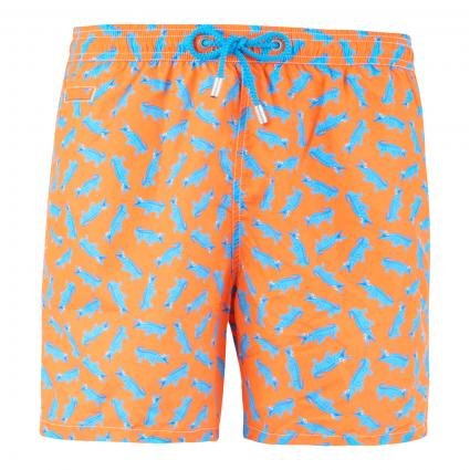Badeshorts 'Lighting Crocodile' orange (8531 orange ) | L