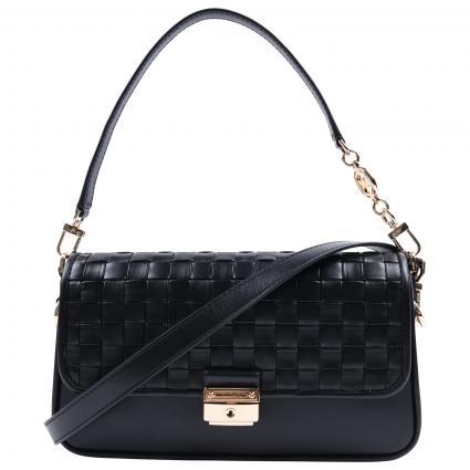 Tasche mit Gold-Detail  schwarz (001 BLACK) | 0