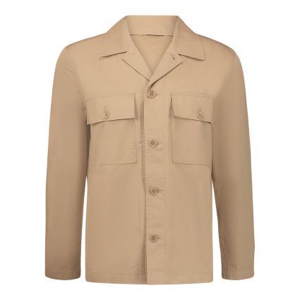 Overshirt 'Fabian' beige (2503 khaki) | L