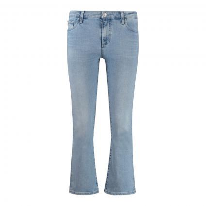 High-Waist Slim-Fit Jeans blau (26YSKI) | 27