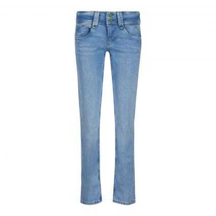 Straight Leg Jeans 'New Gen' blau (000  DENIM) | 27 | 30