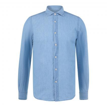 Jeanshemd 'Geranio' blau (01 lt blue )   38
