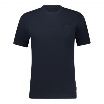 T-Shirt mit Brusttasche marine (01098 Navy) | XL