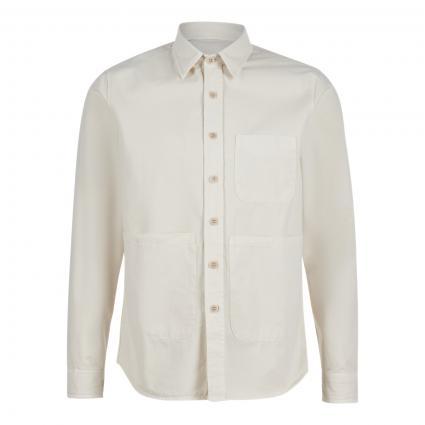 Jacke im Overshirt-Stil beige (85044 beige)   XL