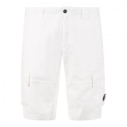 Bermuda mit seitlichen Taschen weiss (103 weiß) | 46
