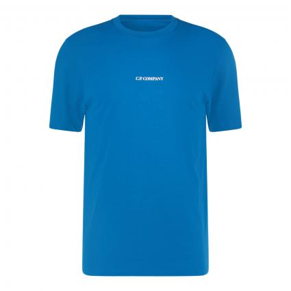 T-Shirt mit Label-Print petrol (870 petrol) | M