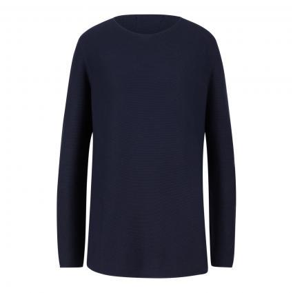 Pullover mit Rundhalsausschnitt marine (marine) | S
