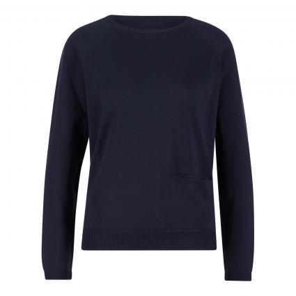 Pullover mit Einschubtasche marine (marine) | L