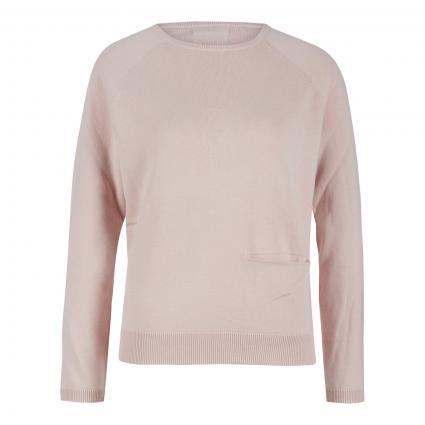 Pullover mit Einschubtasche rose (puder) | S