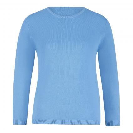 Pullover aus Bio-Baumwolle blau (sky) | S