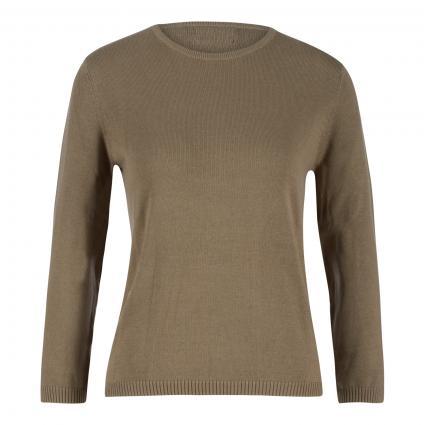 Pullover aus Bio-Baumwolle oliv (oliv)   XXL