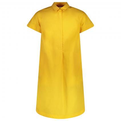Blusenkleid mit halber Knopfleiste gelb (006 OCRA) | 44