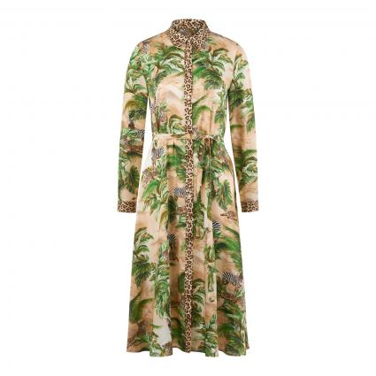 Kleid mit Jungle-Motiven beige (790 animal jungle) | 40