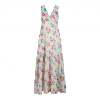 Kleid 'FIONAS' mit All-Over Druck  weiss (0AA MULTI) | L