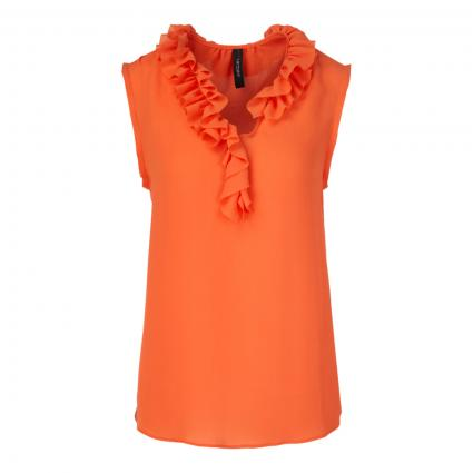 Blusentop mit V-Ausschnitt orange (484 calendula)   38