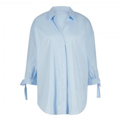 Lange Bluse mit 3/4 Arm blau (10700 bleu)   44