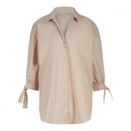 Lange Bluse mit 3/4 Arm beige (10800 sand) | 40
