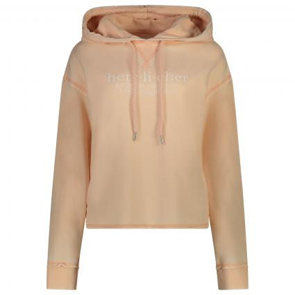 Sweatshirt mit frontalem Print  rose (479 pale peach) | L