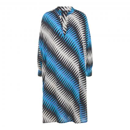 Kleid 'Zedamame' blau (COMBO2 DEEP SEA Z2DS) | S