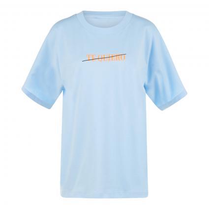 T-Shirt 'Zexme'  blau (COMBO1 SKY BLUE Z1SB)   M