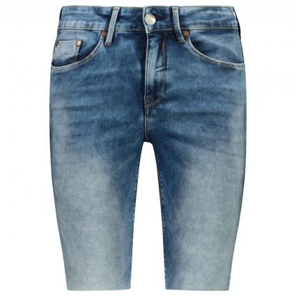 Jeans Short 'Super G' blau (004 retro blue) | 25