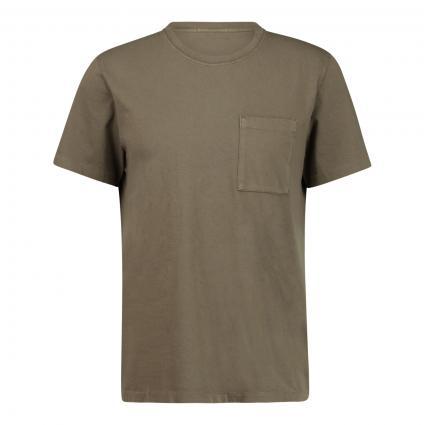 T-Shirt 'Roy' mit Brusttasche oliv (army)   L