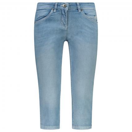 Verkürzte Jeans  blau (524 summer bleached) | 36
