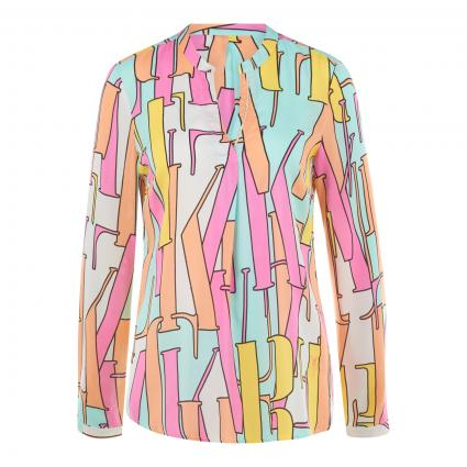Bluse mit All-Over Druck  divers (890 multi letters)   46
