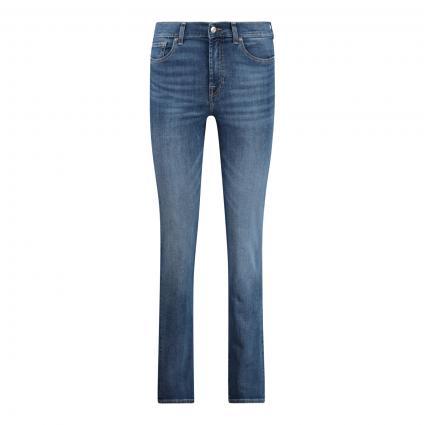 Jeans 'The Straight' marine (Mid Blue) | 27