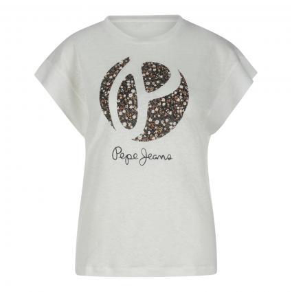 T-Shirt 'Alice' ecru (808 mousse) | XS