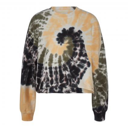 Sweatshirt 'Adele' mit Batik-Muster ecru (0AA multi) | M
