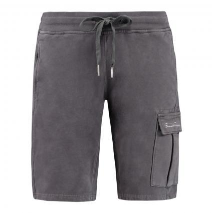 Sweatshorts mit aufgesetzter Tasche anthrazit (7390 Pave Grey) | XXL