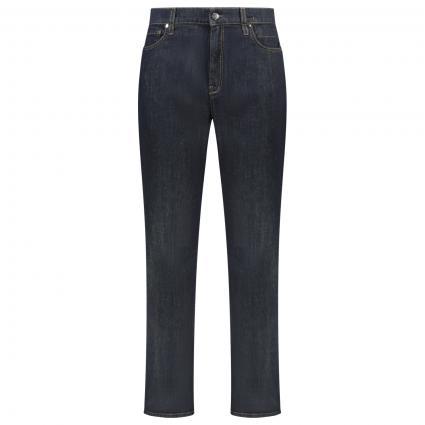 Straight-Fit Jeans  marine (879 raw denim blue) | 42
