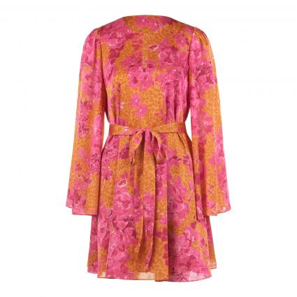 Kleid 'Dolci' mit All-Over Muster orange (YELLOW) | 36
