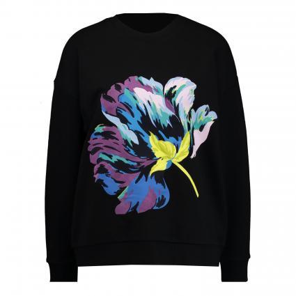 Sweatshirt 'Shiylo' mit Rundhalsausschnitt  schwarz (BLACK) | 42