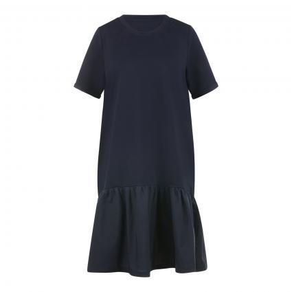 Kleid mit Kurzarm  marine (606 marine)   S