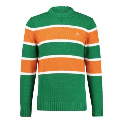 Pullover mit Blockstreifen-Design grün (316 Green) | M
