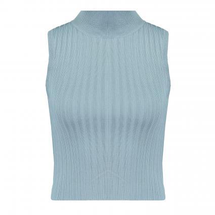 Ärmelloses Shirt ' Aline' mit Stehkragen blau (GCTD GREY CITADEL)   M