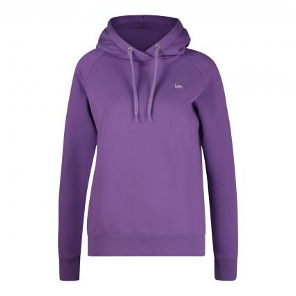 Sweatshirt mit Kapuze  lila (AMETHYST ORCHID) | XS