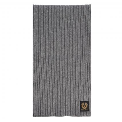 Schal aus Schurwolle grau (90066 GREY) | 0