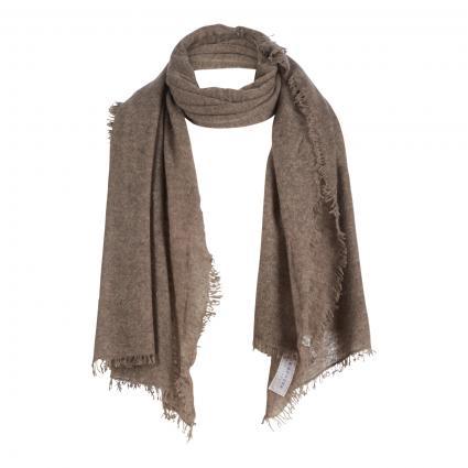 Schal aus reinem Cashmere braun (COFFEE MELANGE) | 0