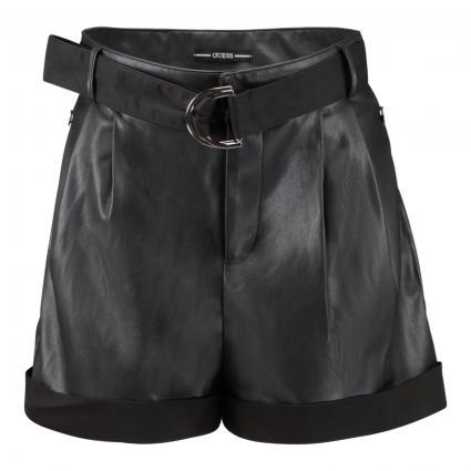 Shorts 'Tala' in Leder-Optik schwarz (JBLK JET BLACK A996)   XS